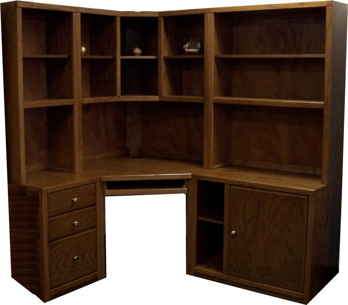 Walmart Black Corner Desk Best Bush Stockport Hutch For Corner
