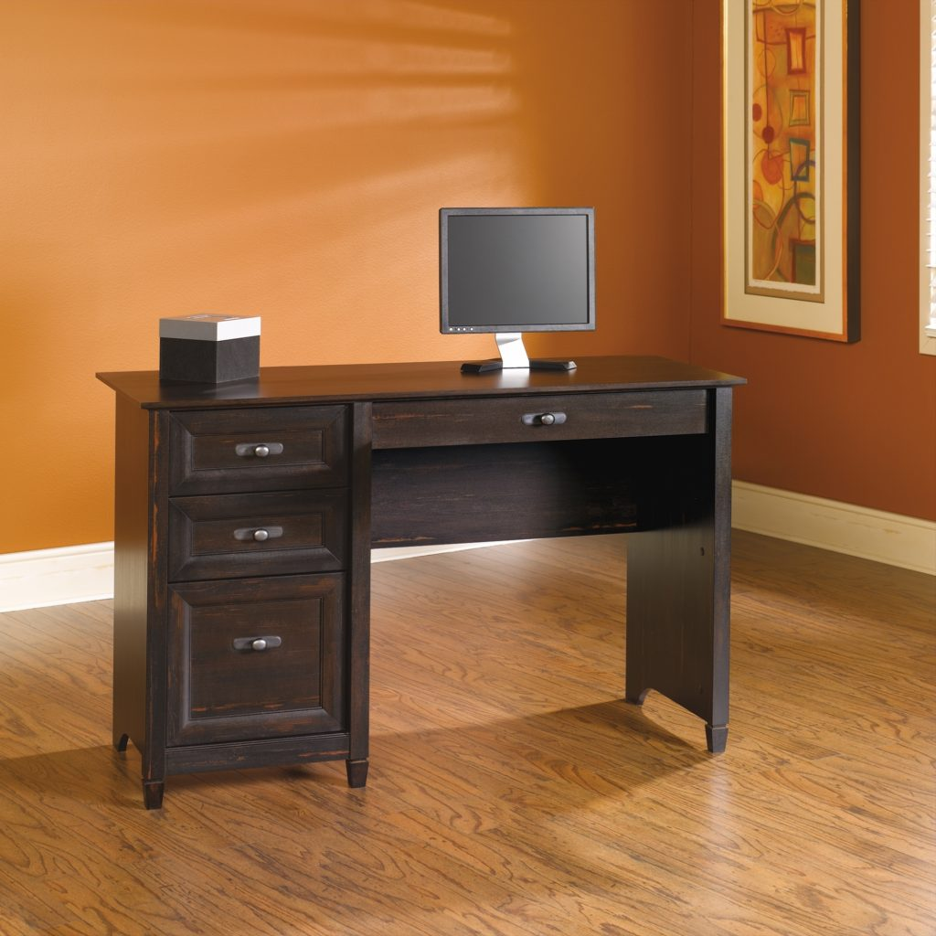 Furniture fascinating sauder computser desk for office home furniture ideas - Computer cart walmart ...