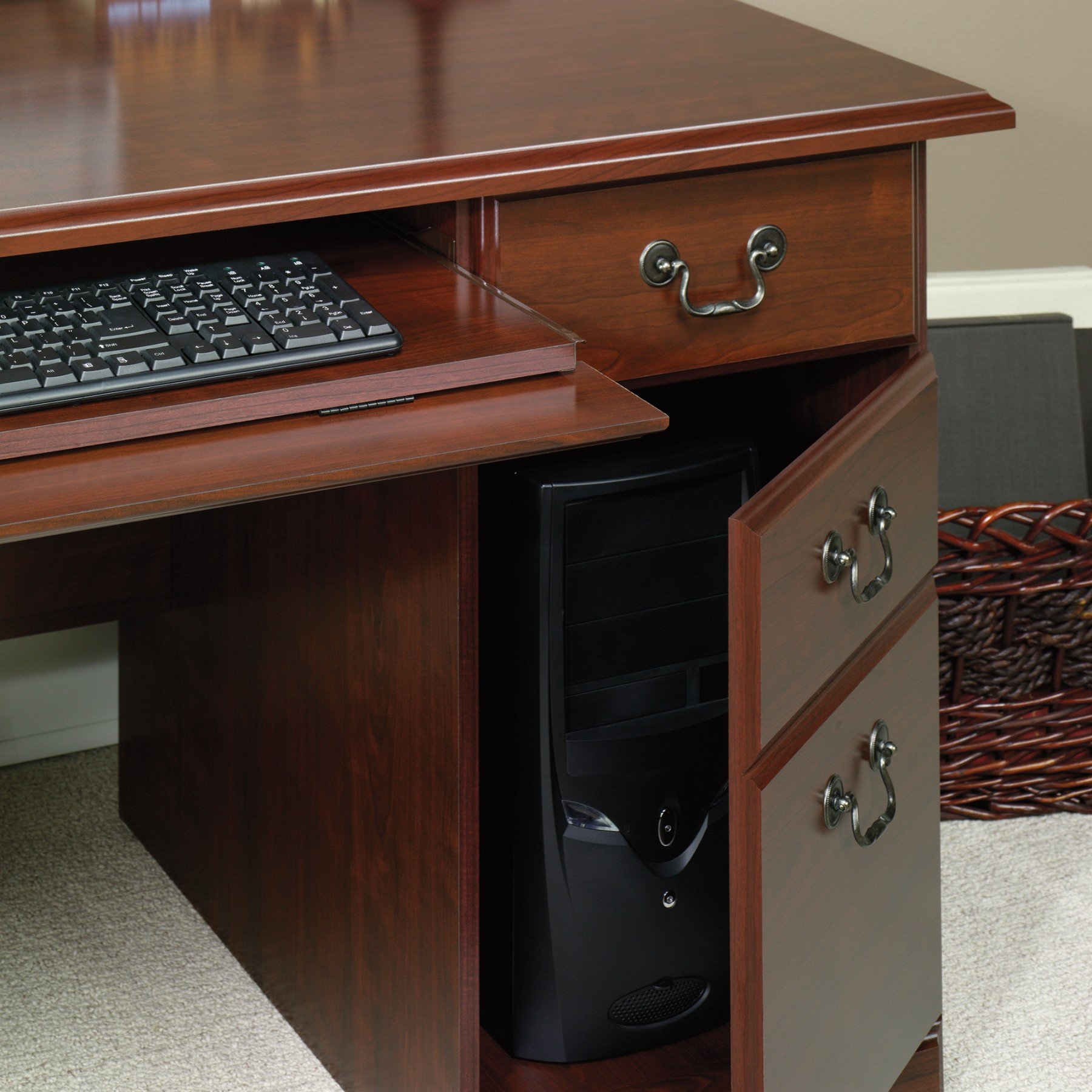 Computer Desks with Hutch | Desks Amazon | Sauder Computer Desks