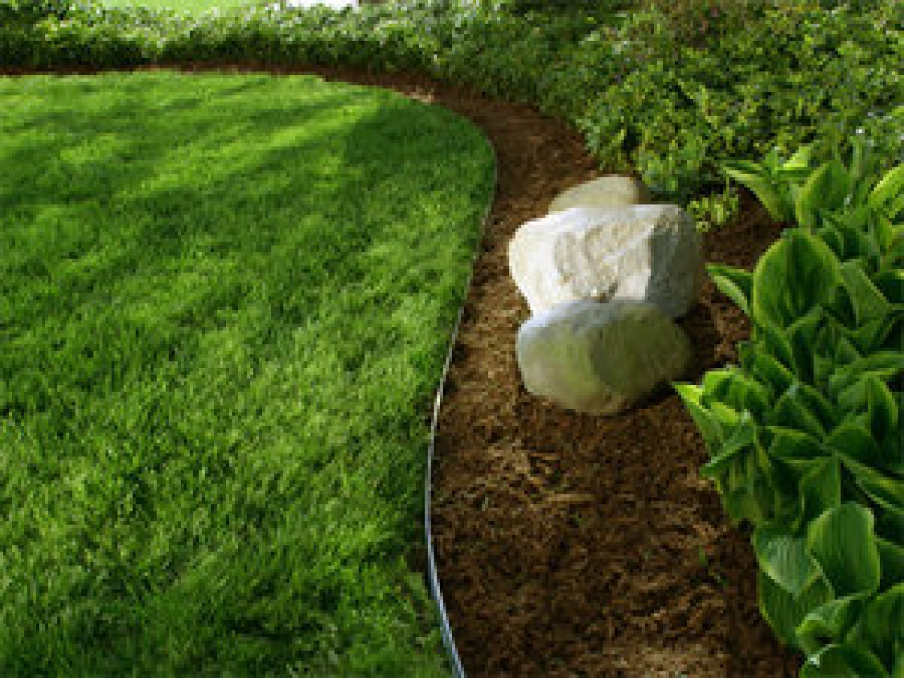 Decor Captivating Metal Landscape Edging For Garden