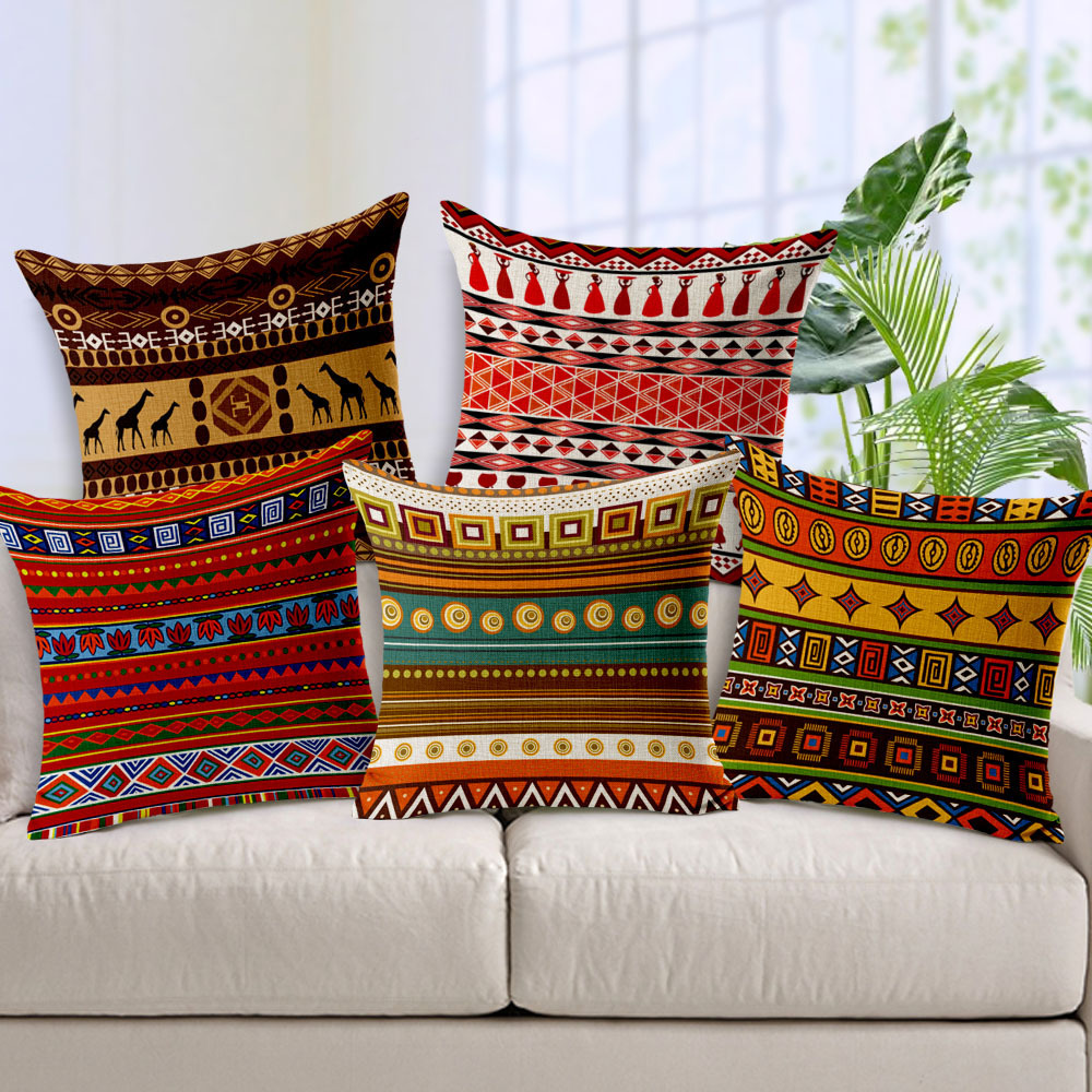 Cool Throw Pillows | Aztec Pillows | Decorative Pillow Covers