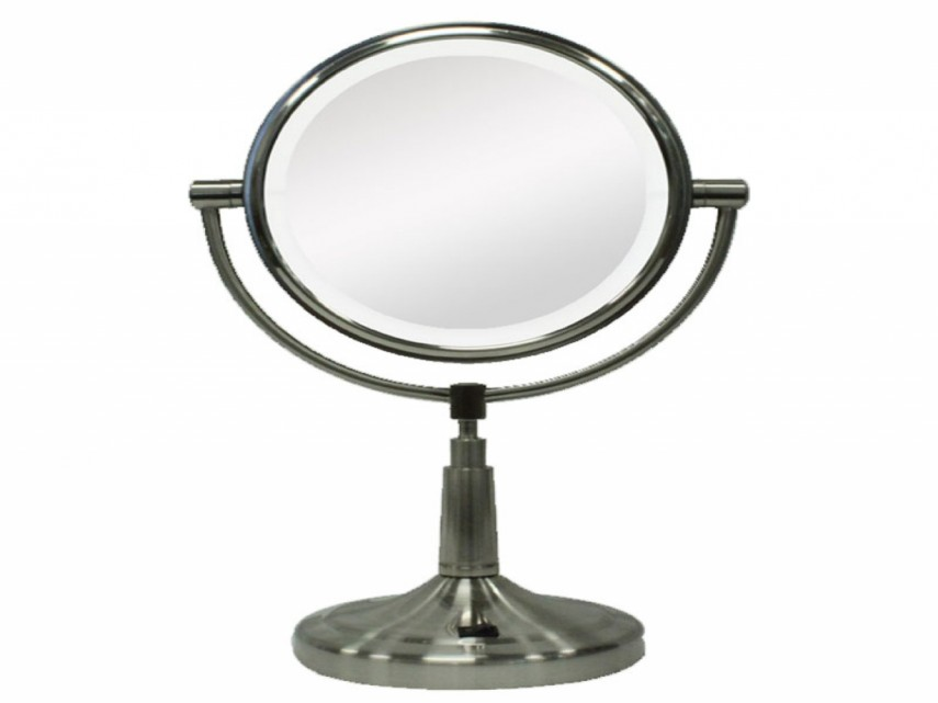 Cosmetic Mirror With Light   Best Lighted Makeup Mirror   Wall Mounted Makeup Vanity