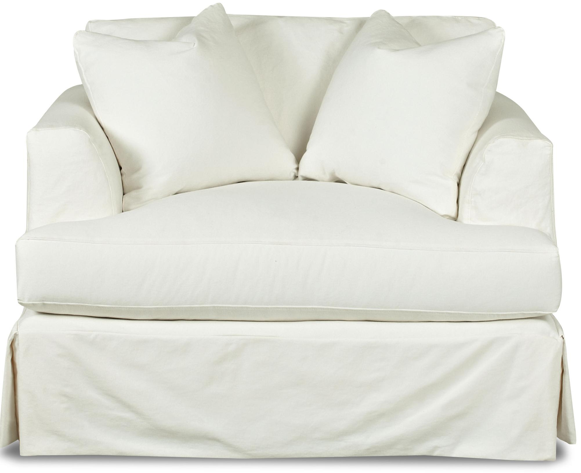 Couch Slipcover | Surefit Slipcovers | Oversized Chair Slipcover