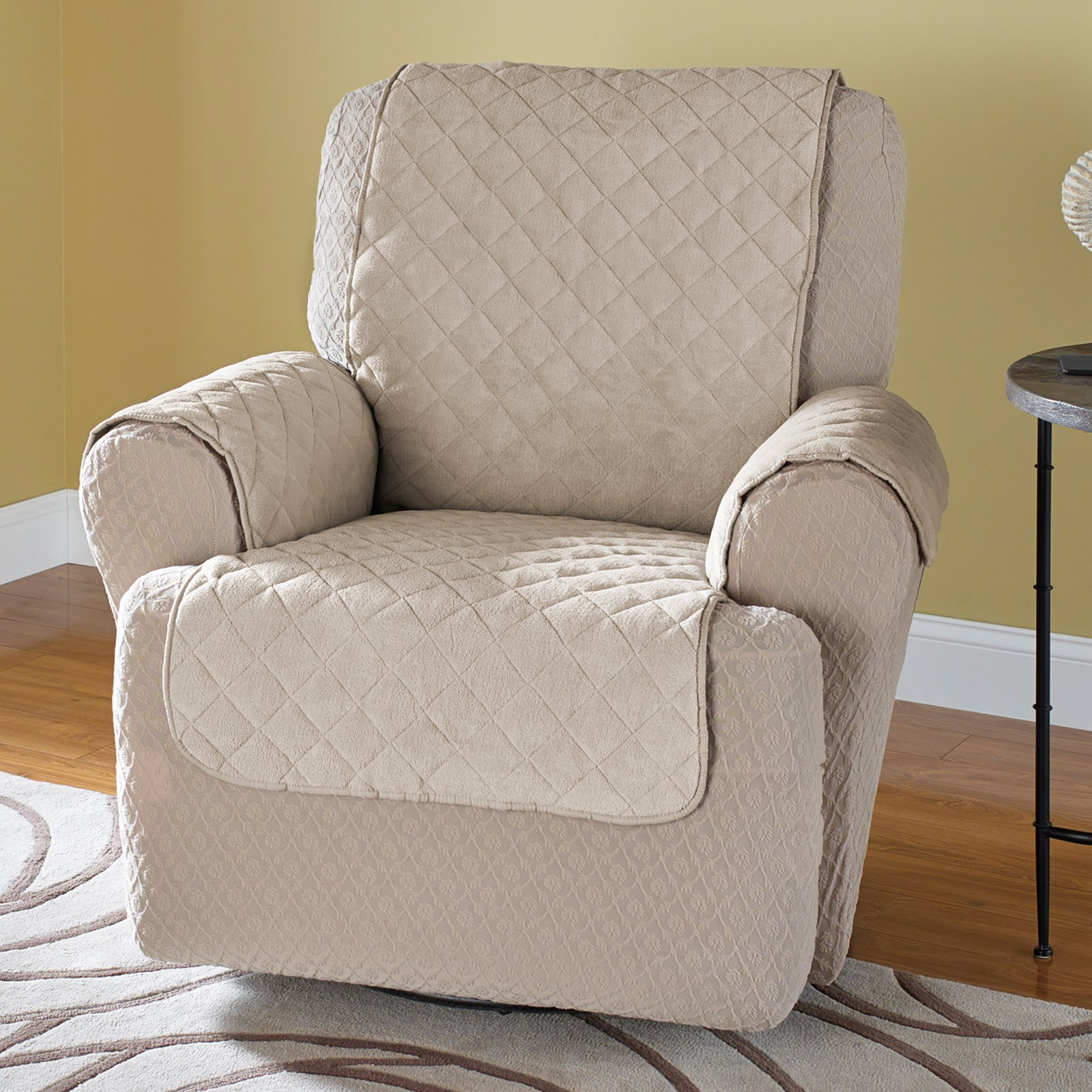 Couch Slipcovers | T Cushion Chair Slipcover | Oversized Chair Slipcover