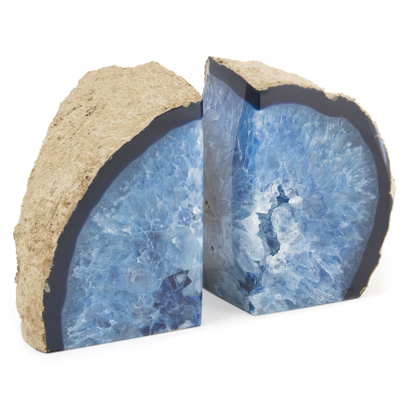 Cozy Geode Bookends | Enchanting Mineral Bookends Inspiration