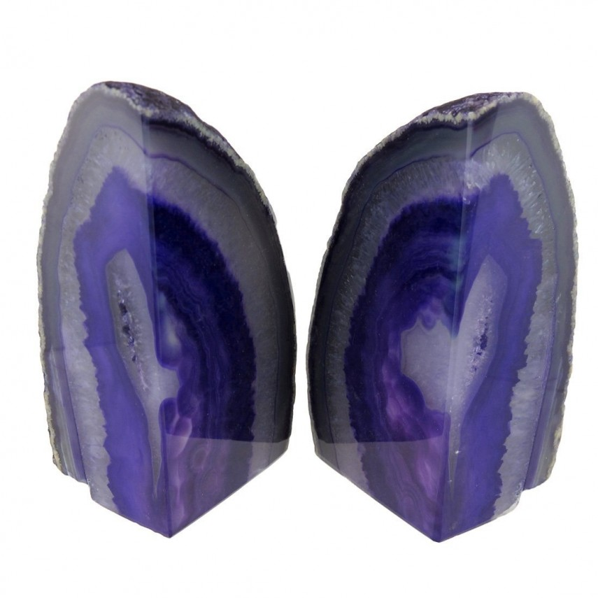 Cozy Geode Bookends | Extravagant Geode Bookends For Sale