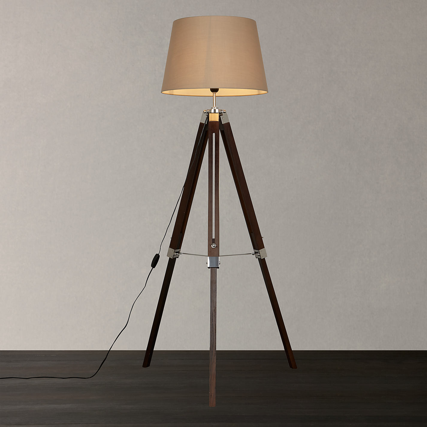 Crate and Barrel Arc Lamp | Tripod Lamp | Cheap Tripod Floor Lamp