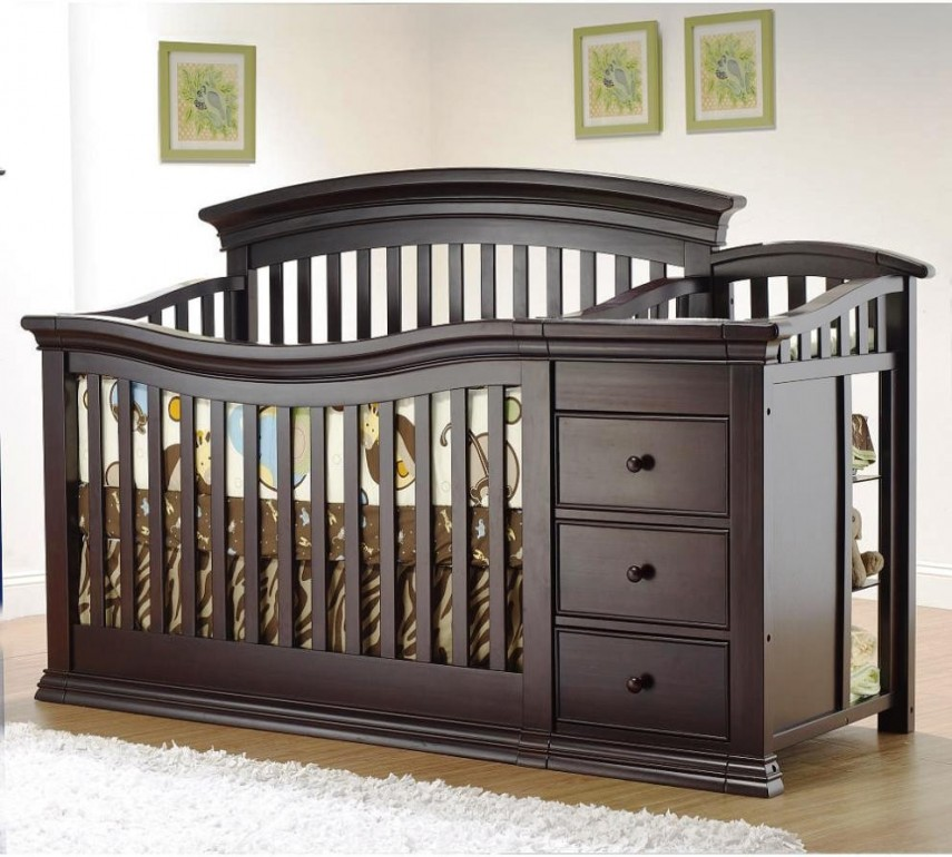 Crib With Drawers And Changing Table | Cheap Cribs | Cheap Crib Sets For Boys