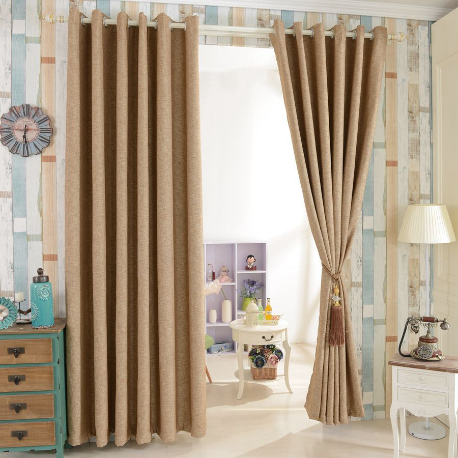 Curtains for Sliding Glass Doors | Plaid Drapes Window Treatments | Window Drapes