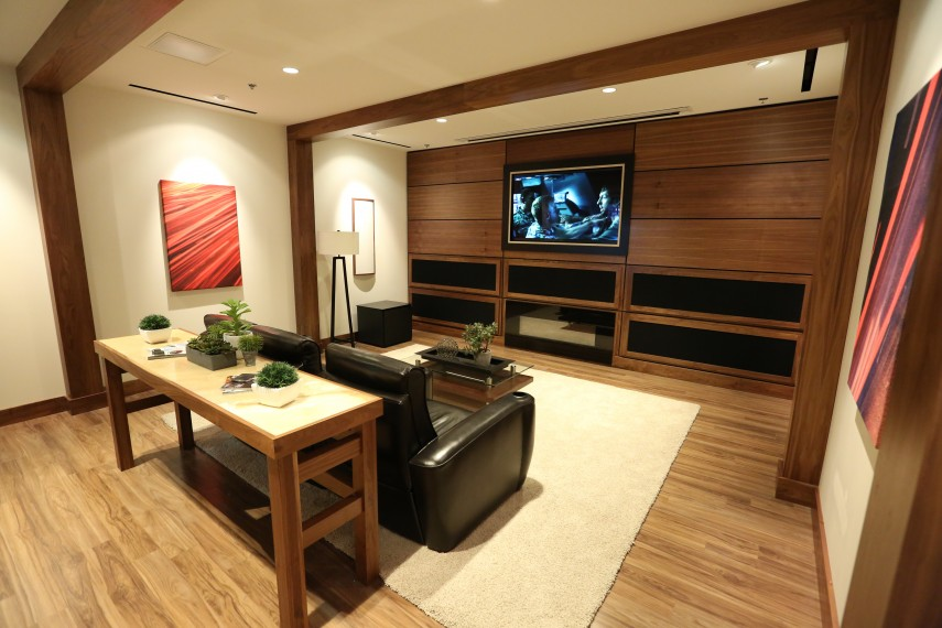 Curved Theater Seating | Magnolia Home Theater | Best Buy Magnolia Home Theater
