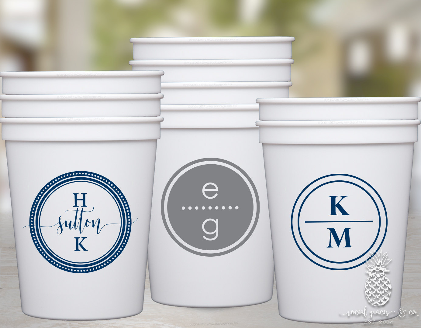 Custom Frosted Plastic Cups | Personalized Plastic Cups | Promotional Cups