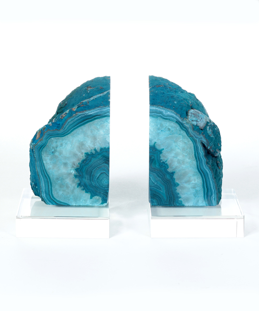 Cute Geode Bookends | Incredible Crystal Bookends