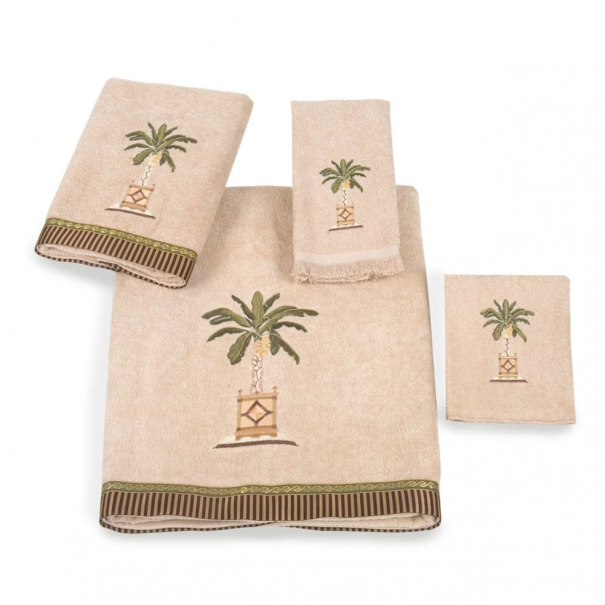 Cute Mocha Bath Towels | Sophisticated Avanti Linens