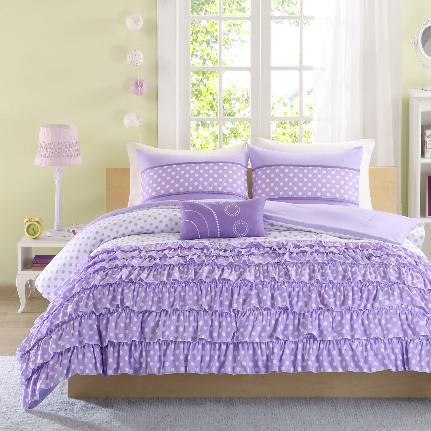 Dark Purple Comforter Sets | Purple Comforter Sets Queen | Purple Comforter Sets