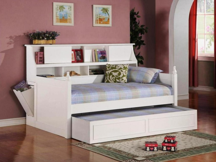 Daybed For Small Space | Modern Daybed | Full Size Daybed With Trundle