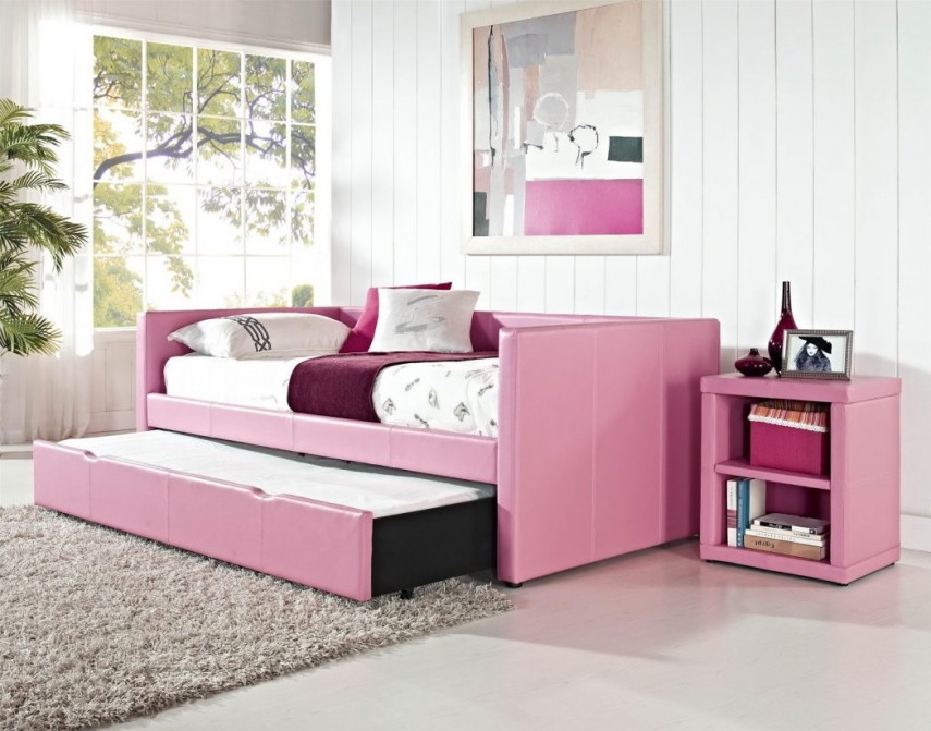 Daybed Sofa | Full Size Daybed With Trundle | Full Size Daybed With Pop Up Trundle