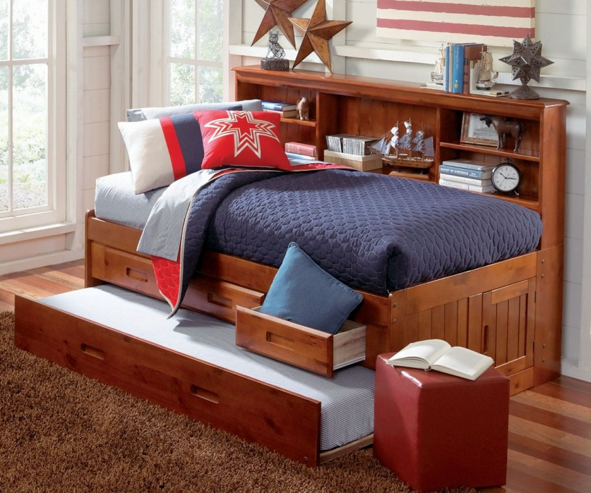 Daybed With Trundle And Storage | Full Size Daybed With Trundle | Cheap Daybed With Trundle