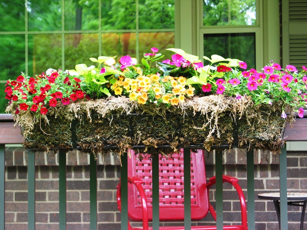 Decor flower boxes lowes railing planters deck rail planters deck planters deck railing planter boxes deck rail planters baanklon Images