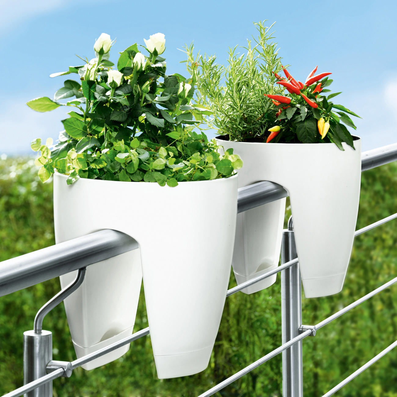Deck Rail Planters | Fence Planter Boxes | Planters for Deck Rails