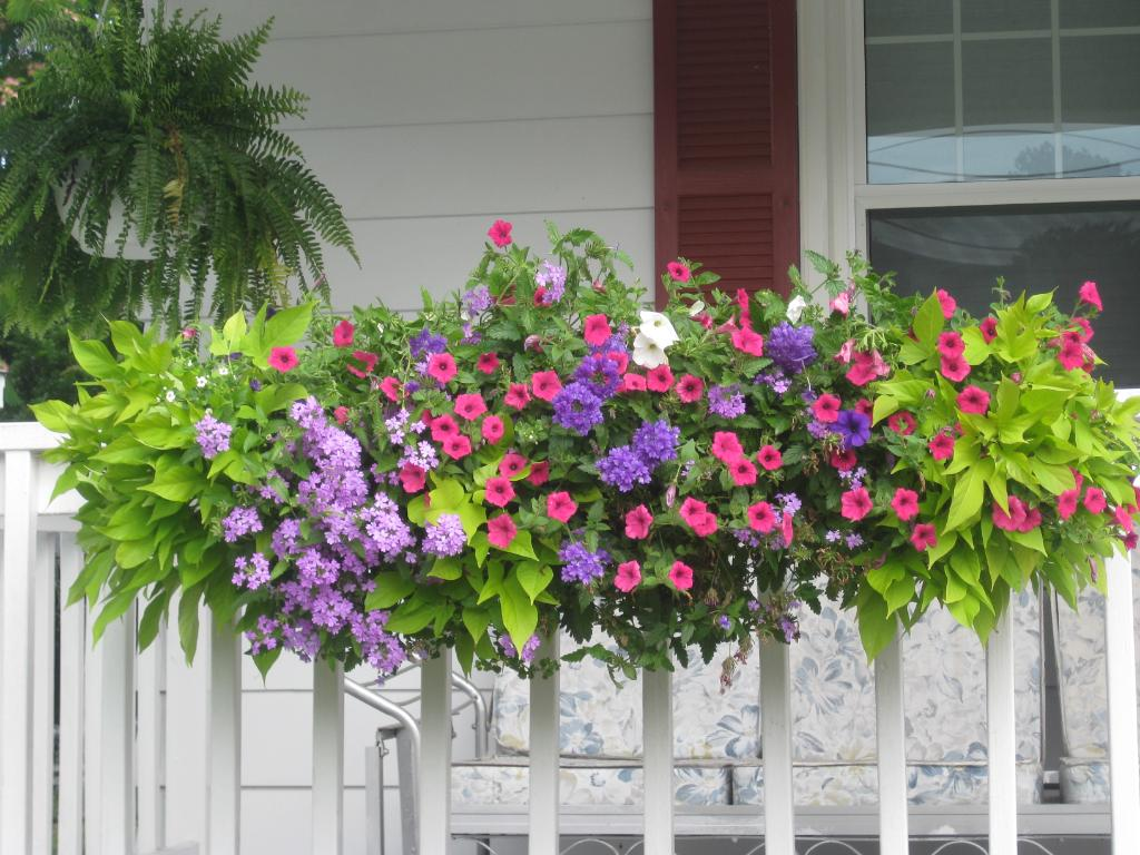 Deck Railing Planter Box | Deck Rail Planters | Flower Boxes Lowes
