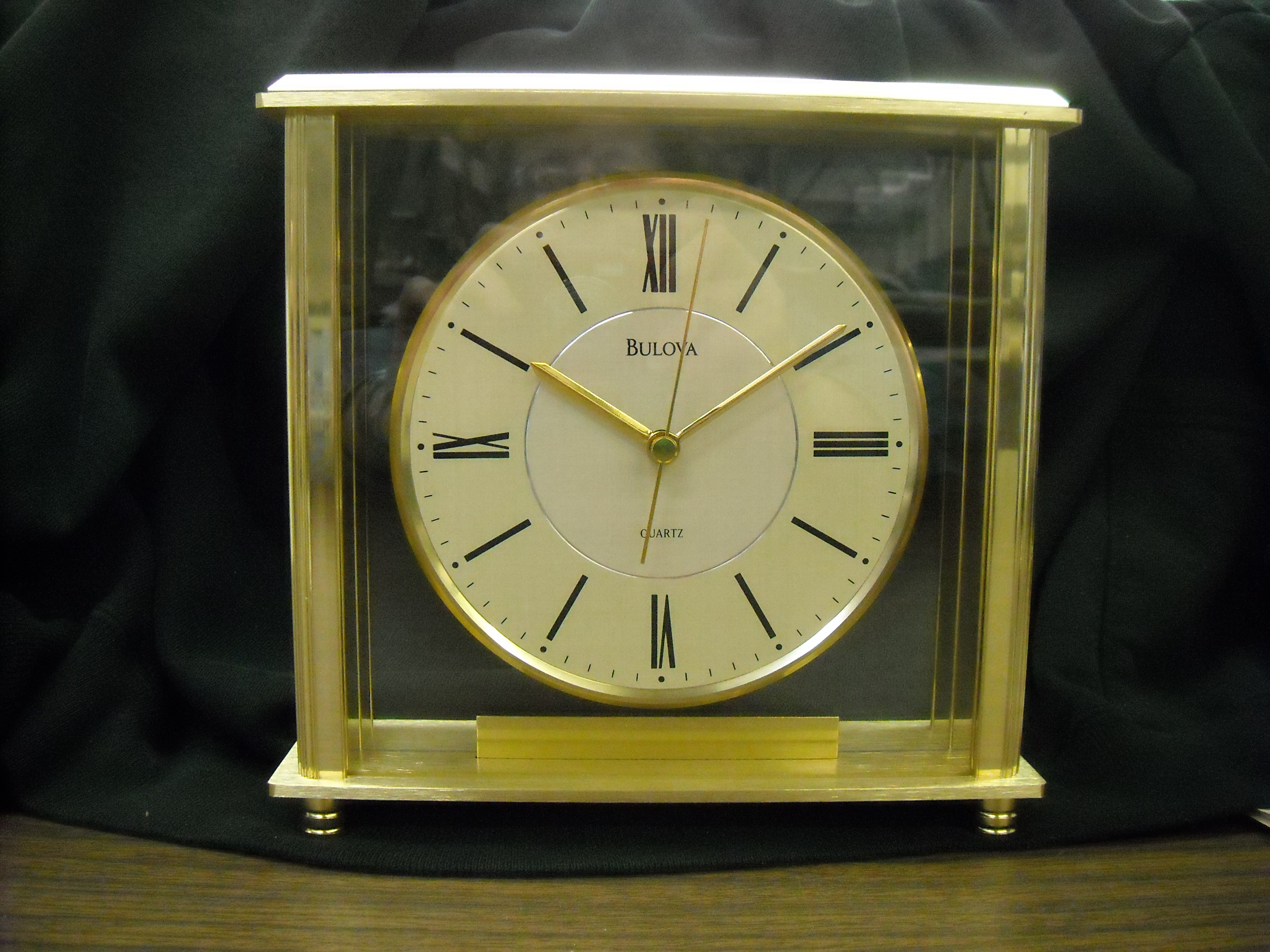 Decorative Mantel Clocks | Bulova Mantel Clock | Bulova Antique Clock