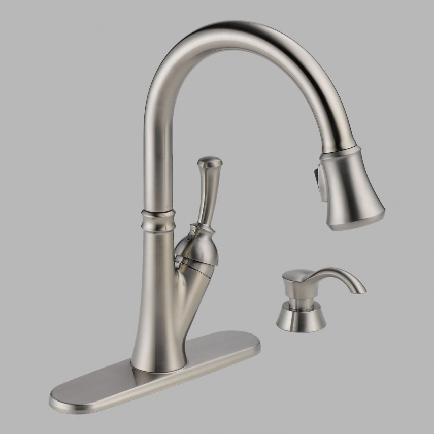 Delta Cassidy Faucet | Kitchen Side Sprayer | Best Pull Out Kitchen Faucet