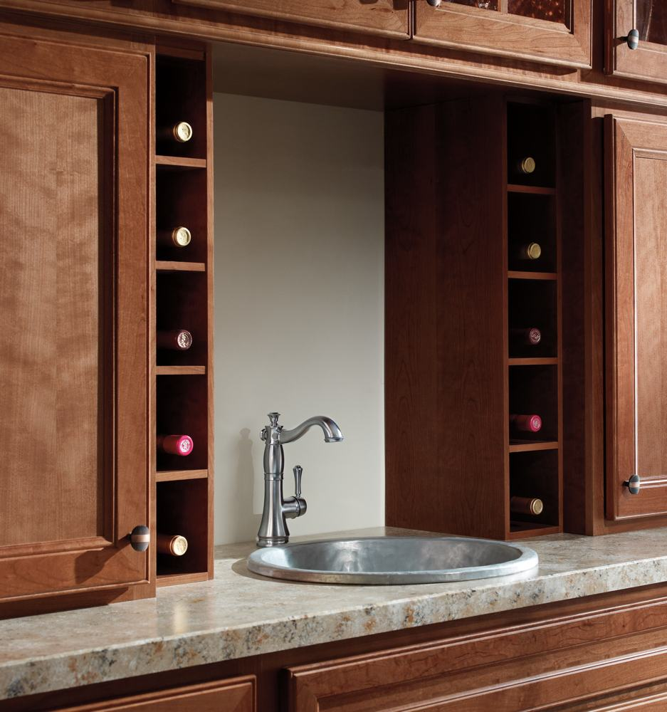 bathroom: elegant design of delta cassidy faucet for pretty