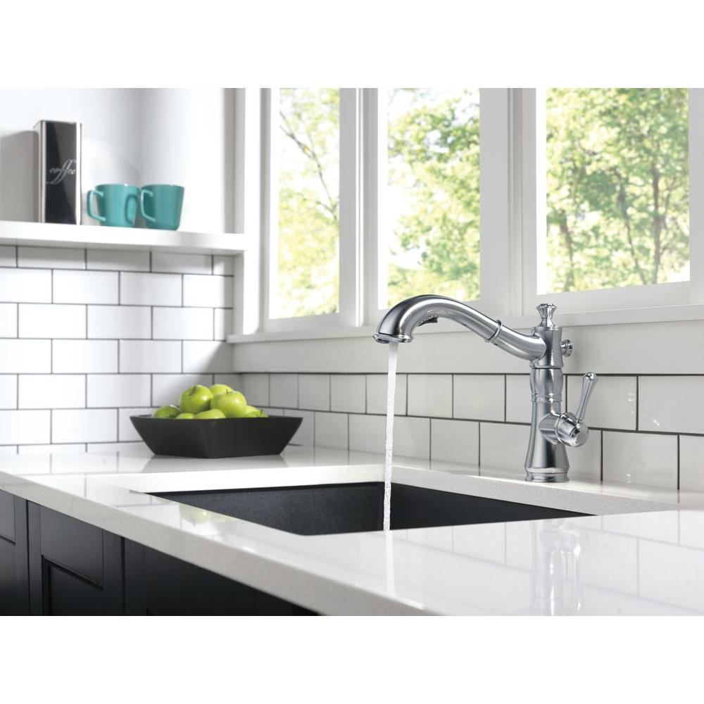 Delta Cassidy Faucet | Spring Kitchen Faucet | Top Rated Kitchen Faucets