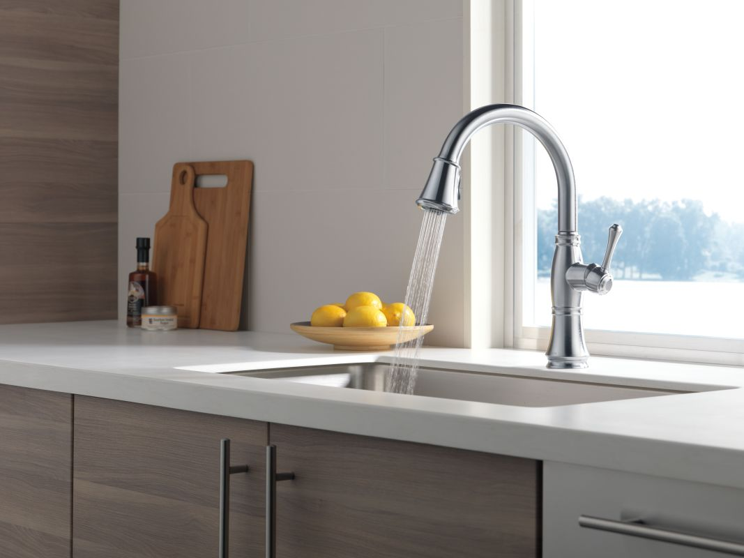 Bathroom elegant design of delta cassidy faucet for for Kitchen designs by delta