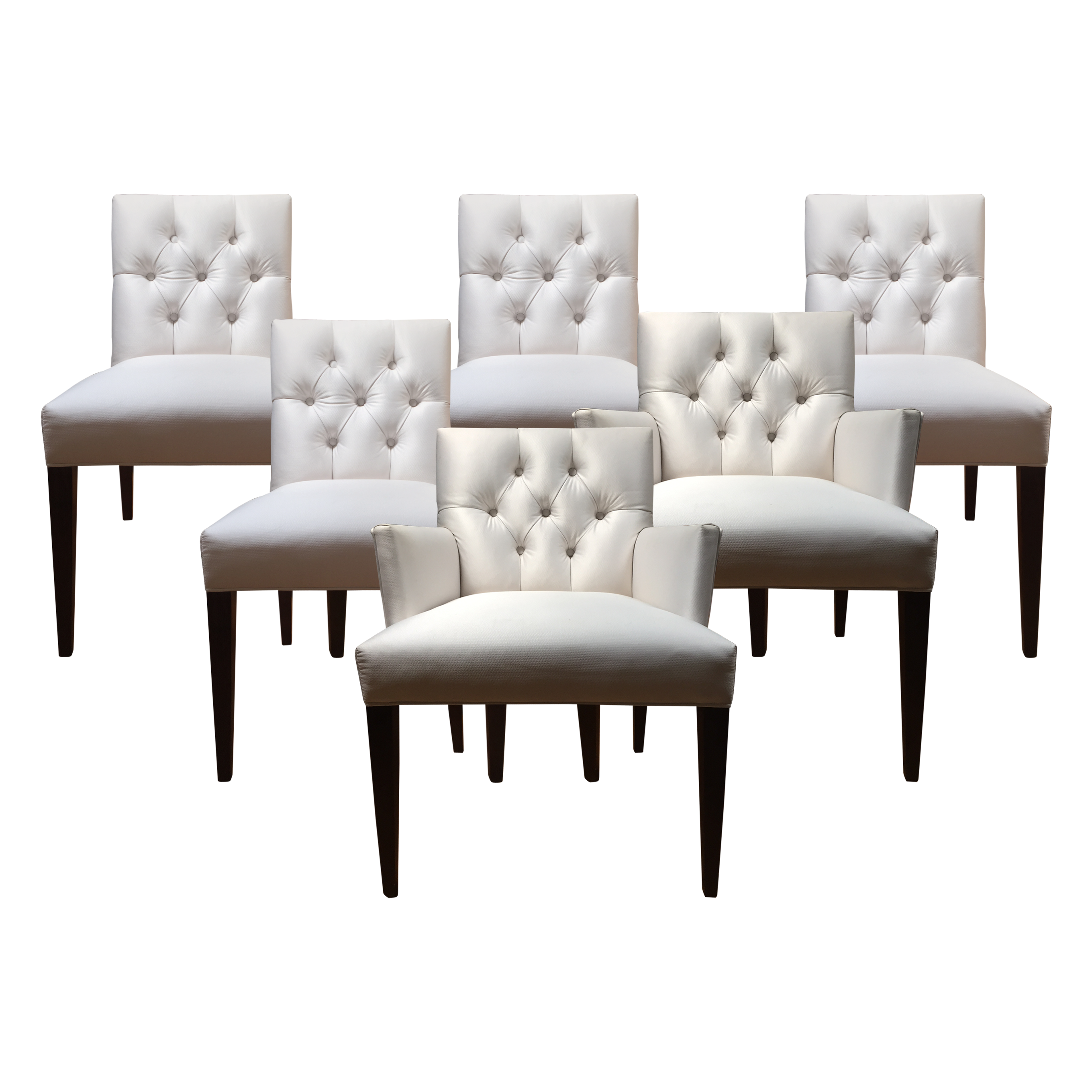 Dining Chairs with Nailheads | Tufted Parsons Dining Chair | Tufted Dining Chair