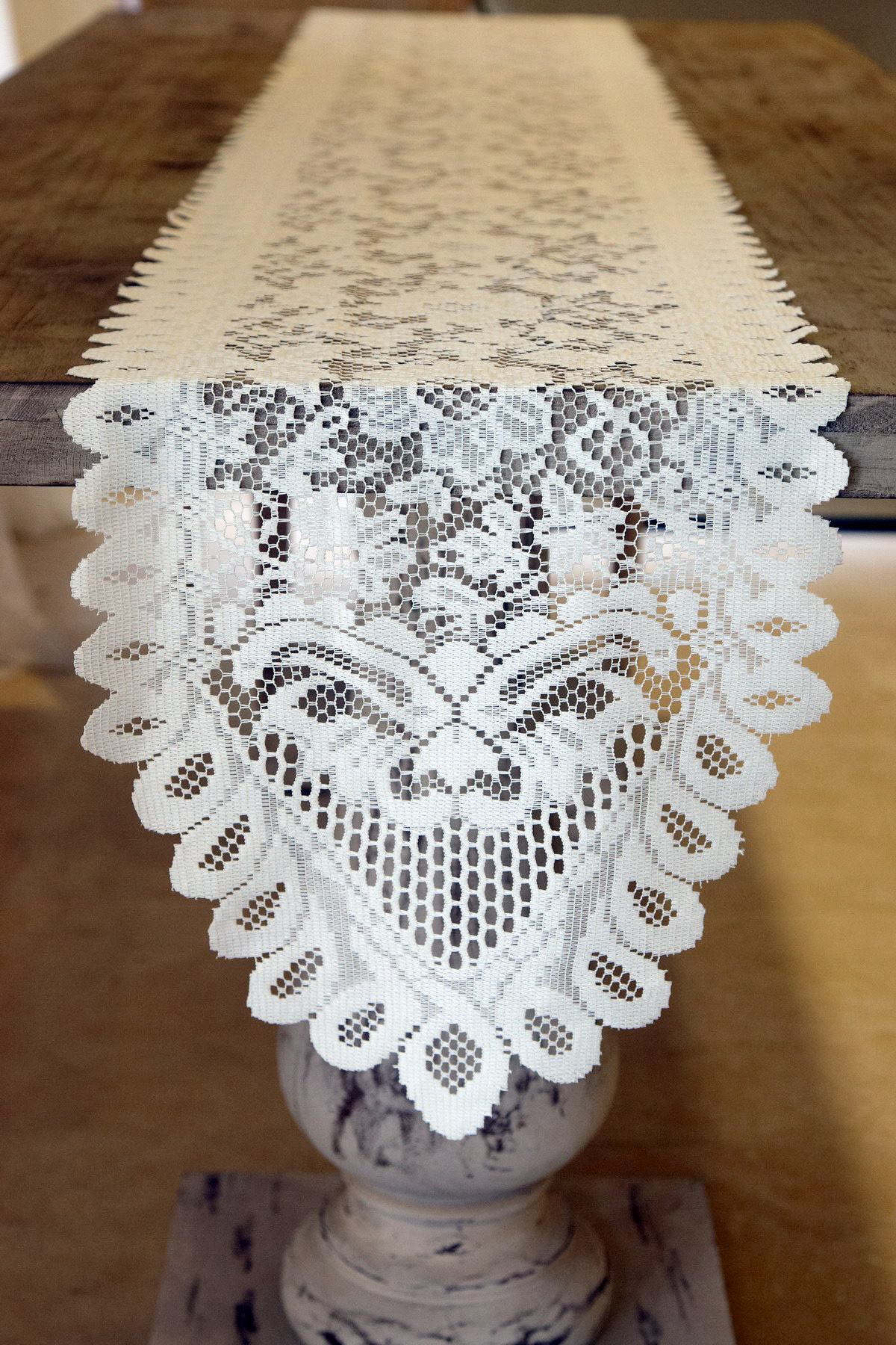 Dining Table Runners | Lace Table Runners | Burlap Table Runners with Lace