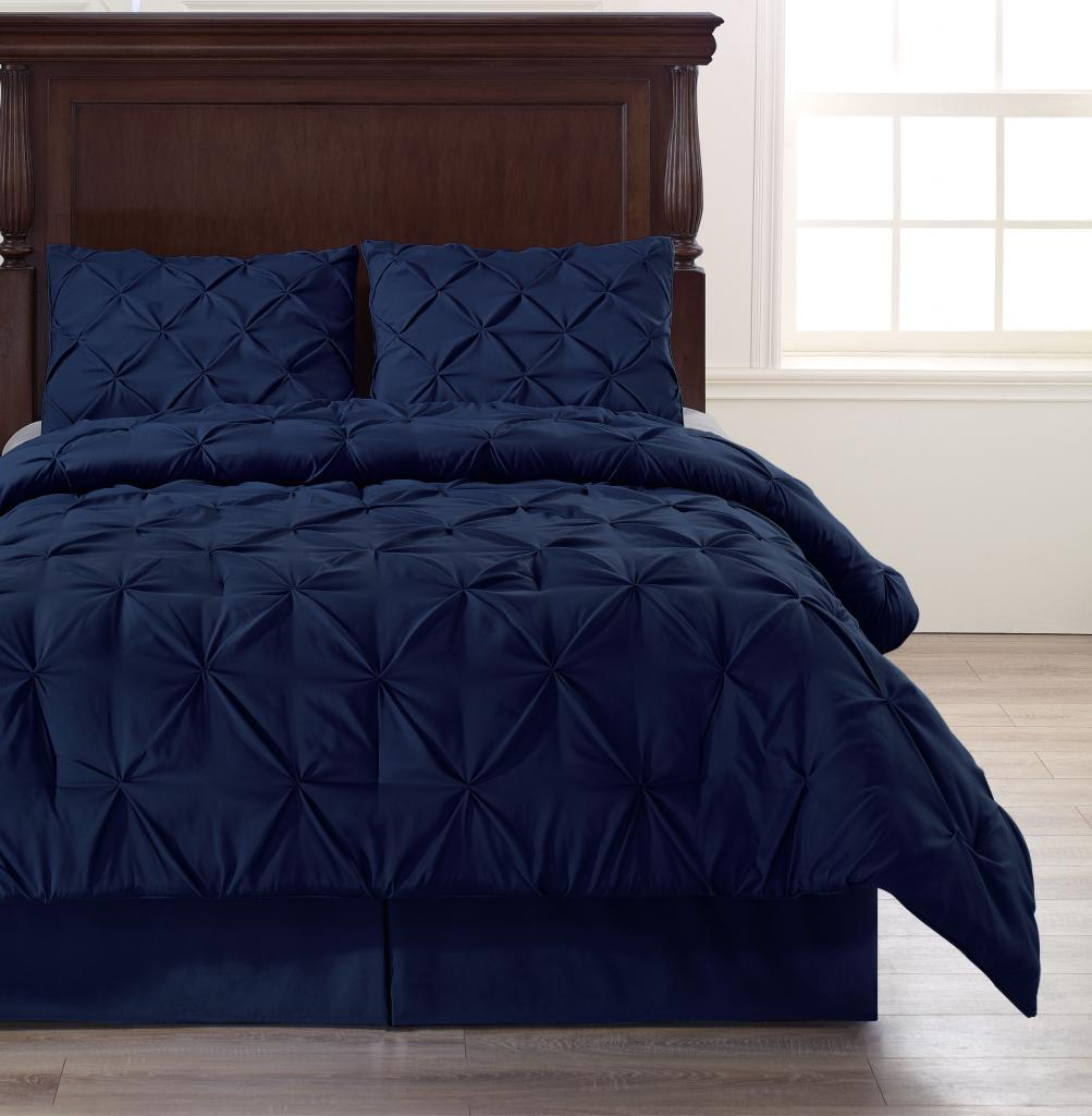 Discount Comforter Sets | Navy Blue Comforter | Twin Bed Comforter Sets