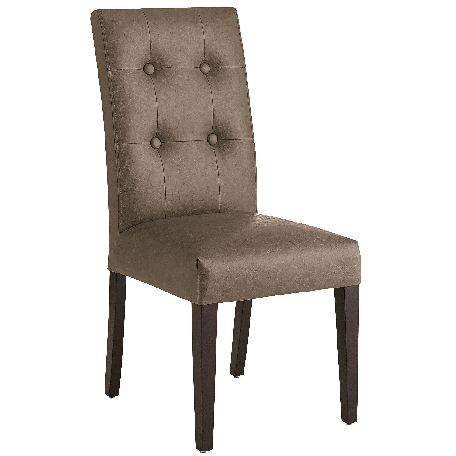 Discount Dining Room Chairs | Tufted Parsons Dining Chair | Tufted Dining Chair