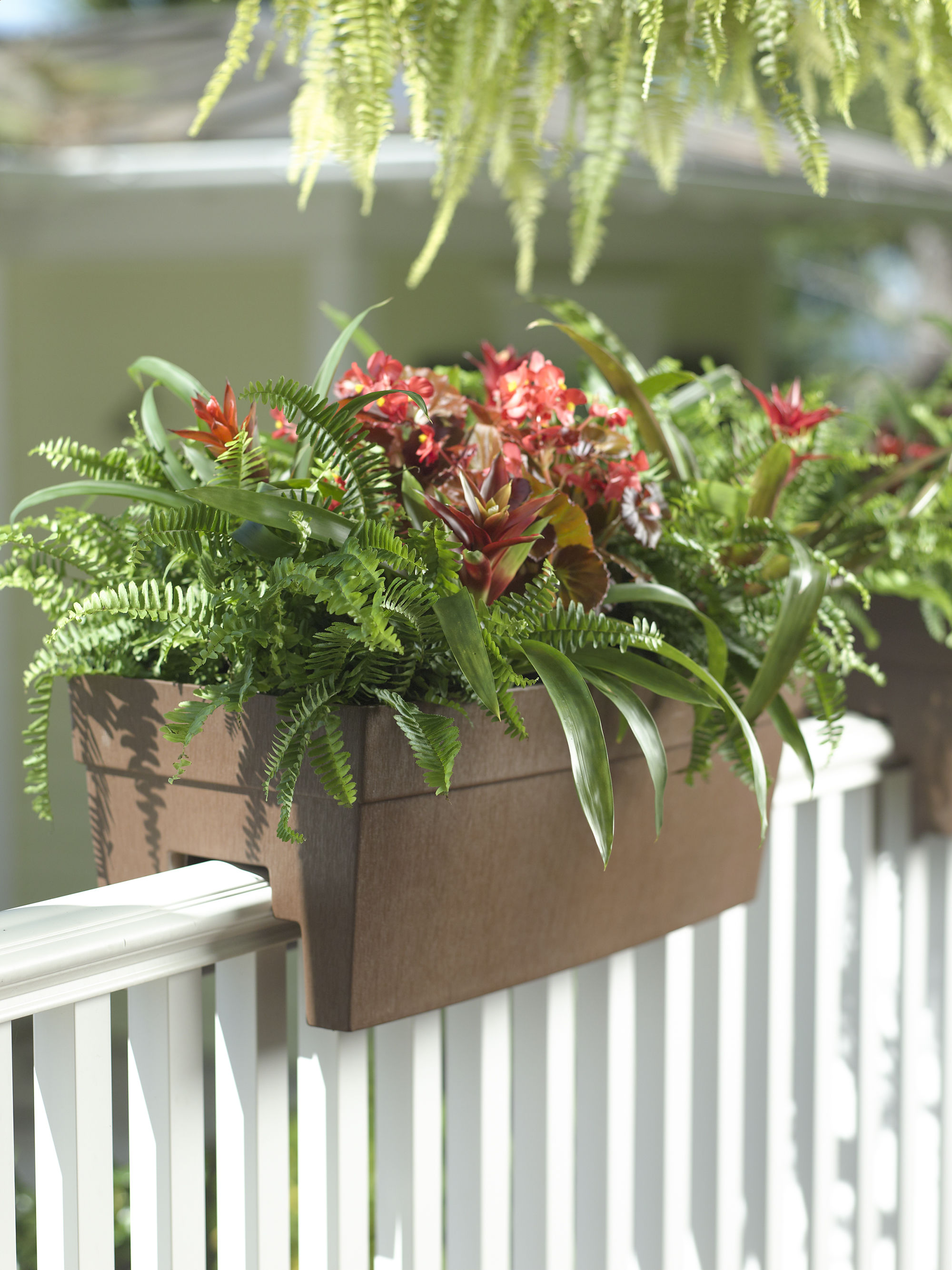 Diy Railing Planter | Deck Rail Planters | Ledge Planters