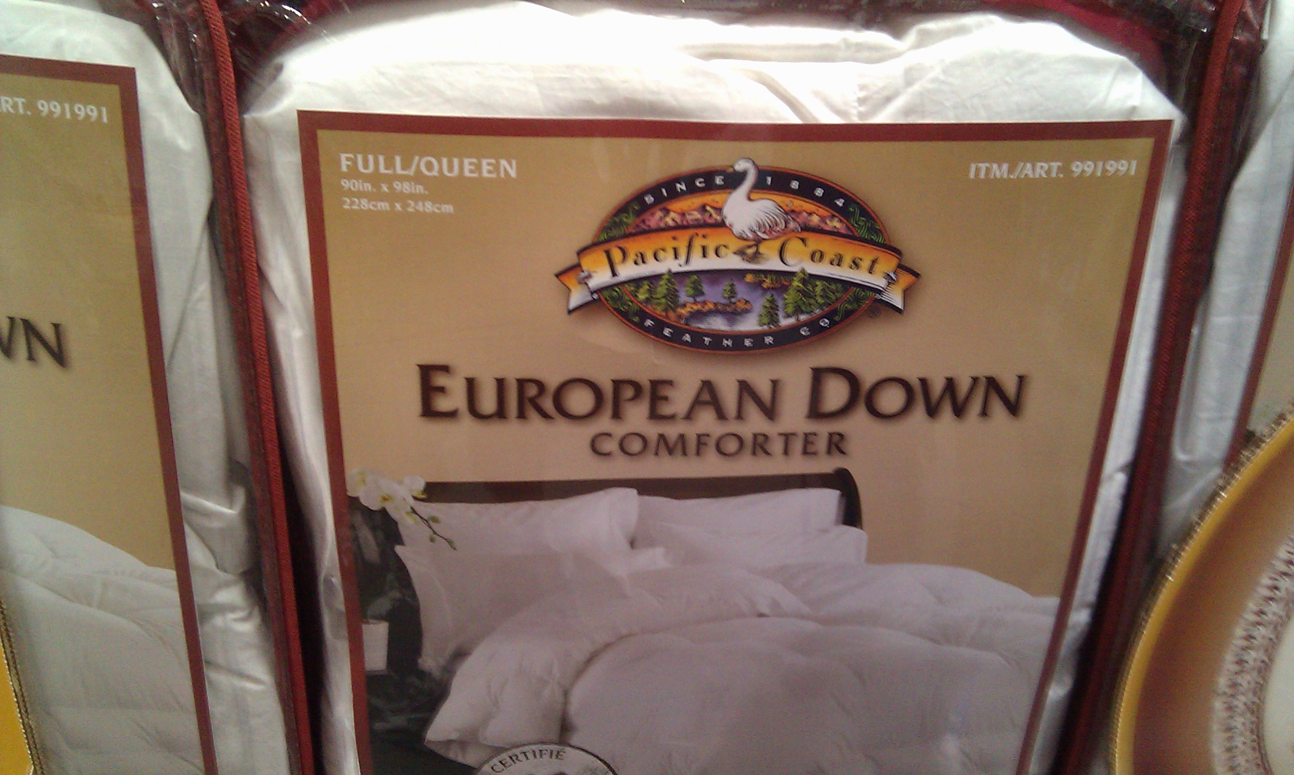 Down Comforter Reviews | Pacific Coast Comforter | Hungarian Goose Down Comforter