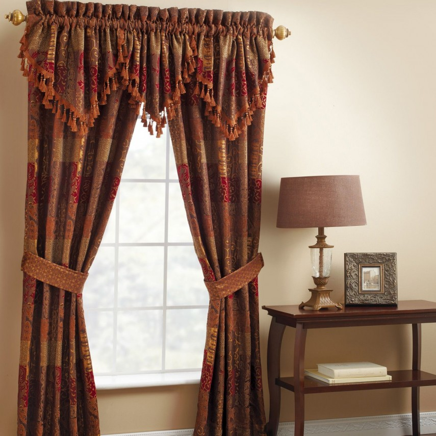 Drapes For Large Windows | Bay Window Drapes | Window Drapes