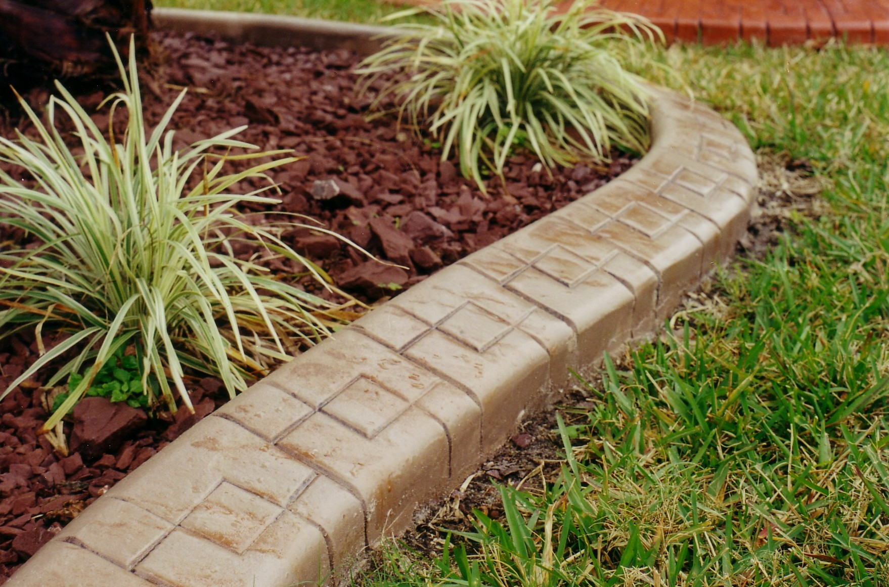 Edging Garden Bed | Home Depot Stone Edging | Landscape Edging Ideas