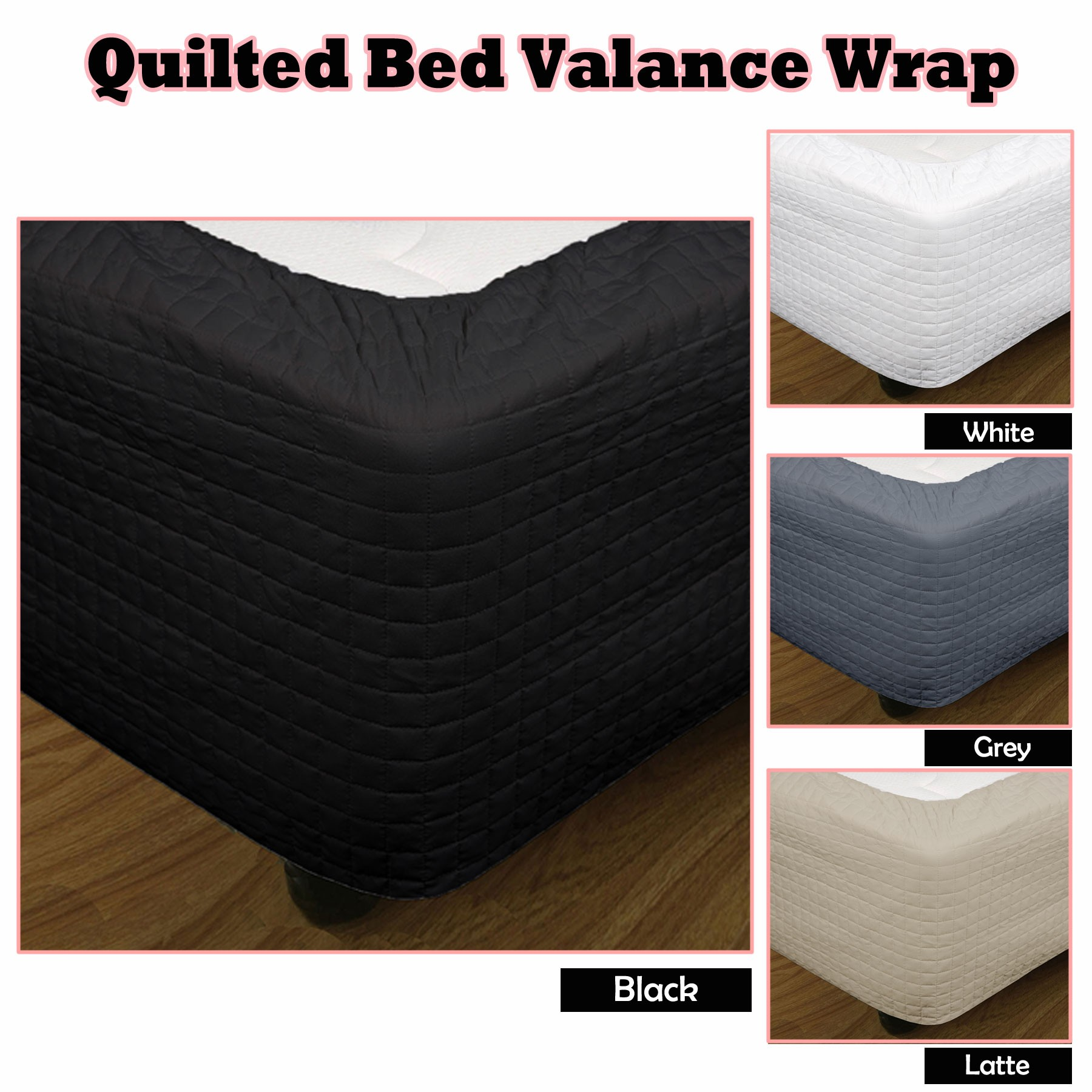Elastic Bed Skirt | Bed Bath Beyond Bed Skirt | Bed Skirts Queen