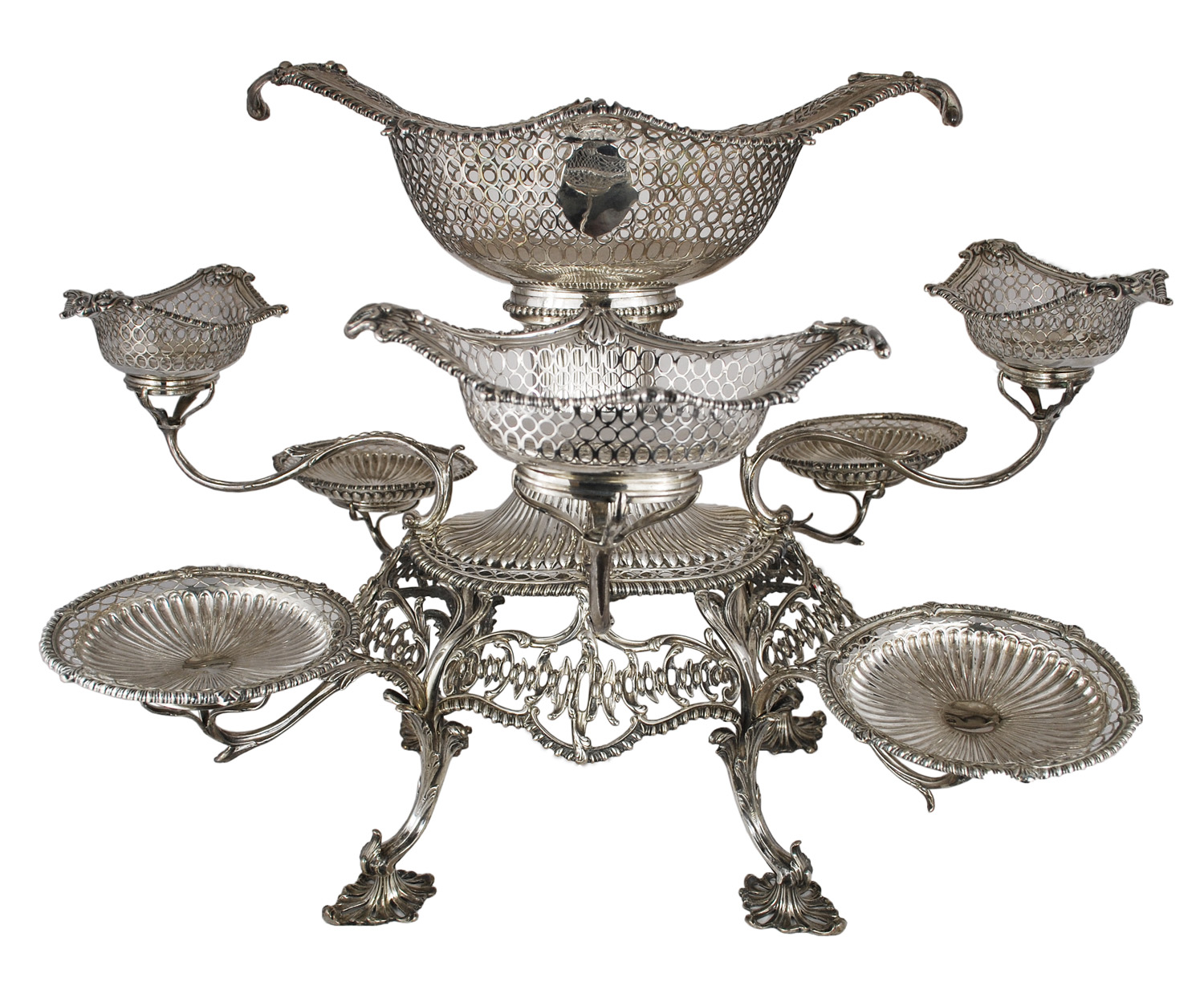 Endearing Epergne | Engaging Sterling Silver Epergne