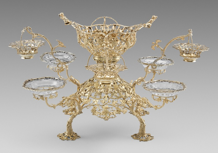 Endearing Silver Epergne | Pretty Epergne