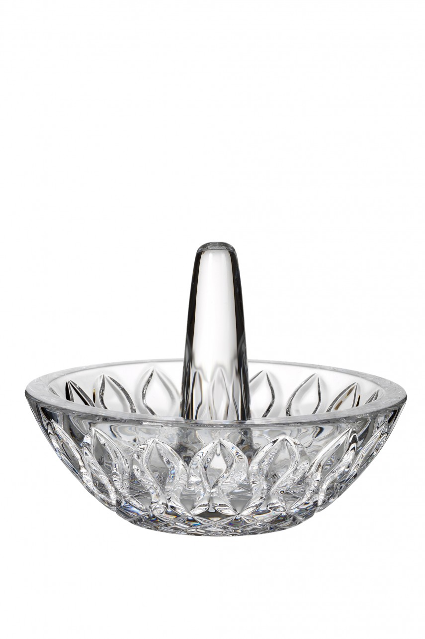 Engaging Waterford Crystal Ring Holder Dish   Lovely Waterford Ring Holder