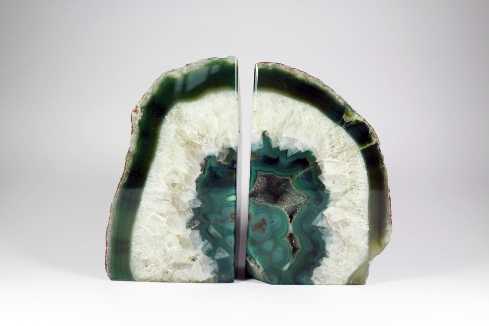 Enjoyable Geode Bookends on Sale | Snazzy Geode Bookends
