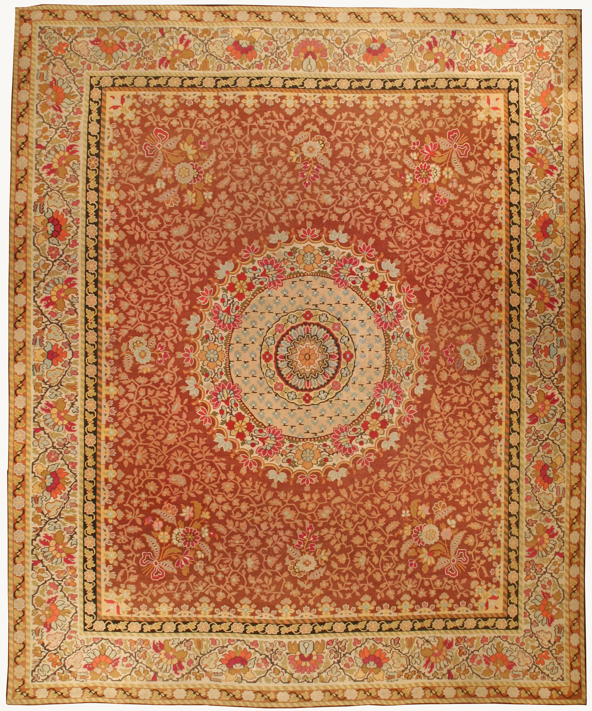 Excellent Aubusson Rugs | Surprising French Aubusson Rug