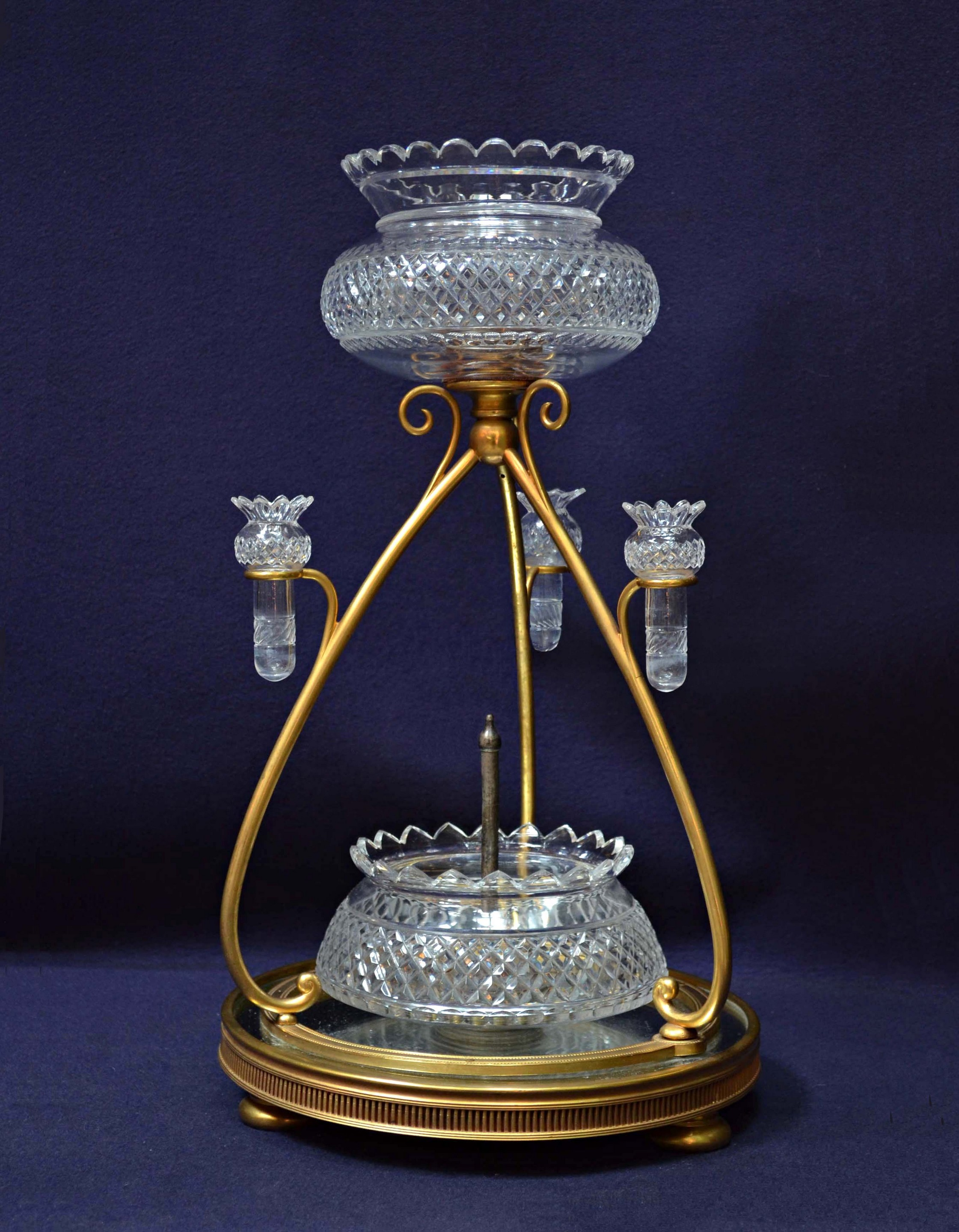 Extraordinary Antique Silver Epergne | Great Epergne