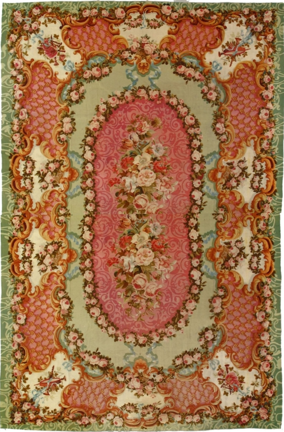 Fabulous 1800 Rugs | Sensational Aubusson Rugs