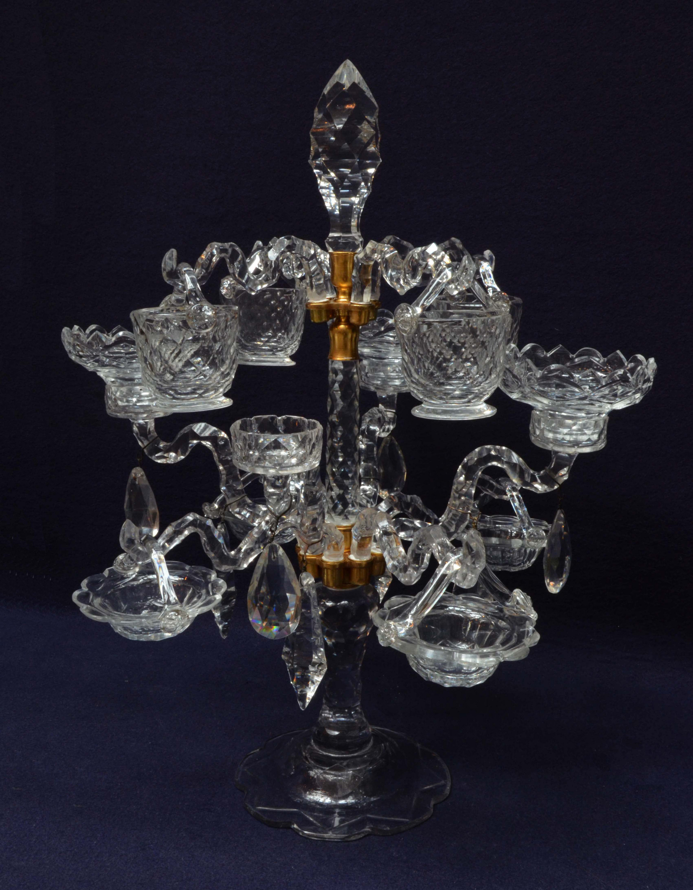 Using Antique Epergne for Dining Table Accessories Ideas: Fabulous Epergne | Sensational Epergene
