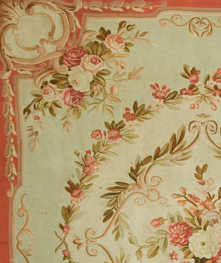 Fabulous French Aubusson Tapestry | Enticing Aubusson Rugs Style