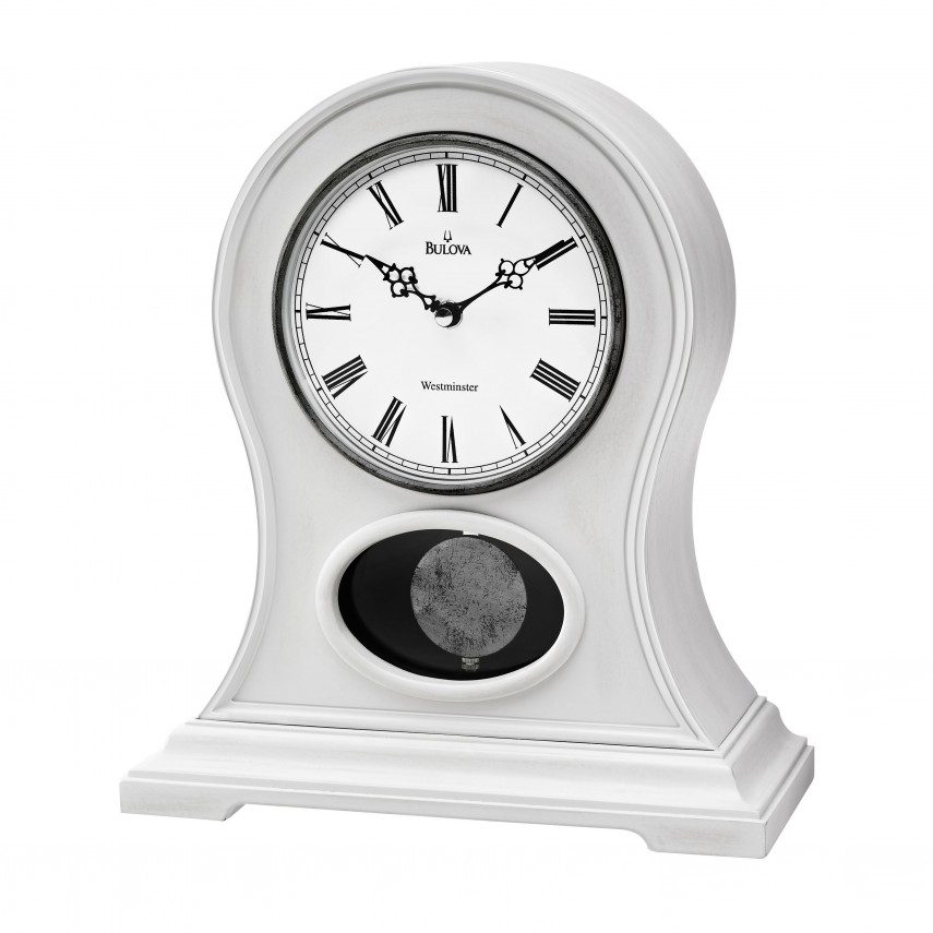 Fireplace Mantel Clocks | Bulova Mantel Clock | Wooden Mantel Clocks
