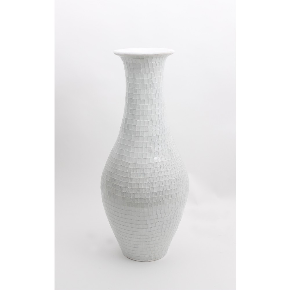Floor Vase | Large Ceramic Floor Vases | Tall White Floor Vase