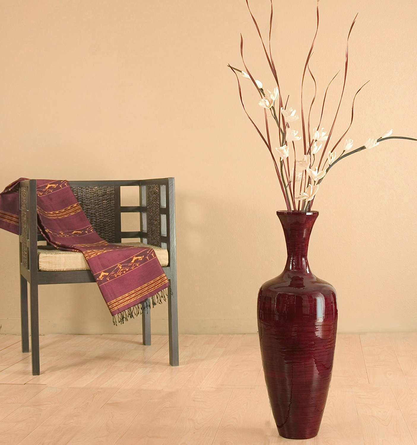 Floor Vases for Living Room | Floor Vase | Mosaic Floor Vase